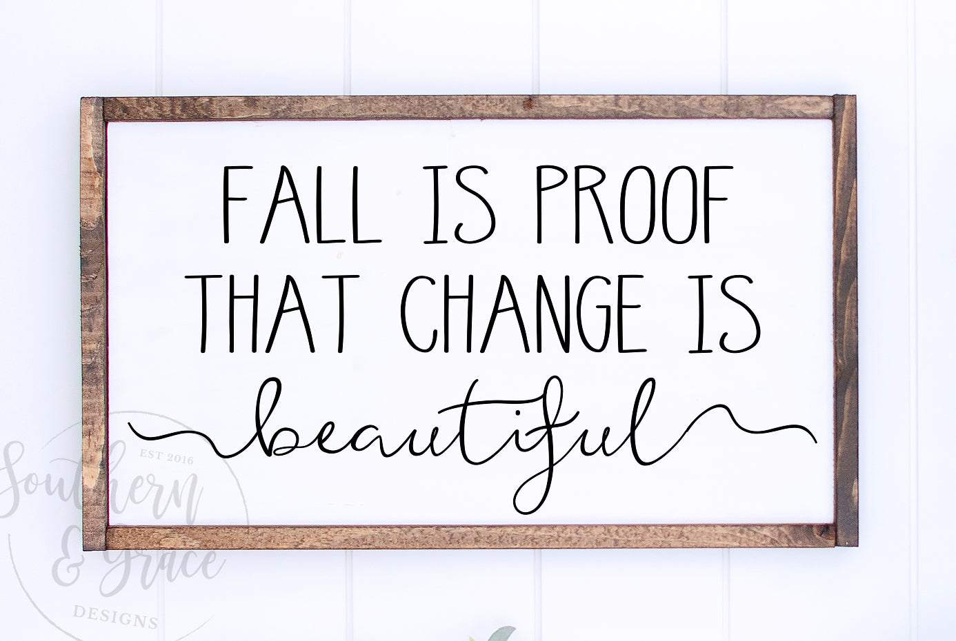 Fall Is Proof