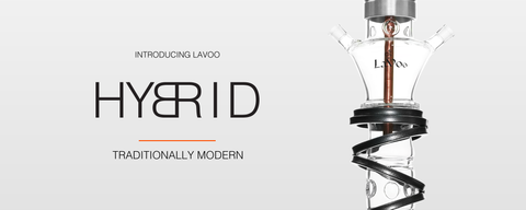 The Lavoo Hybrid Series Hookahs