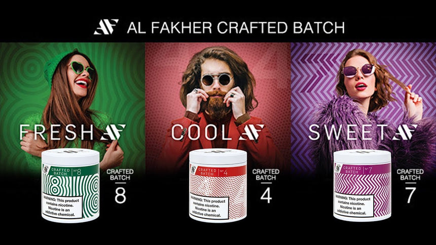 Al Fakher Crafted Batch Shisha Tobacco
