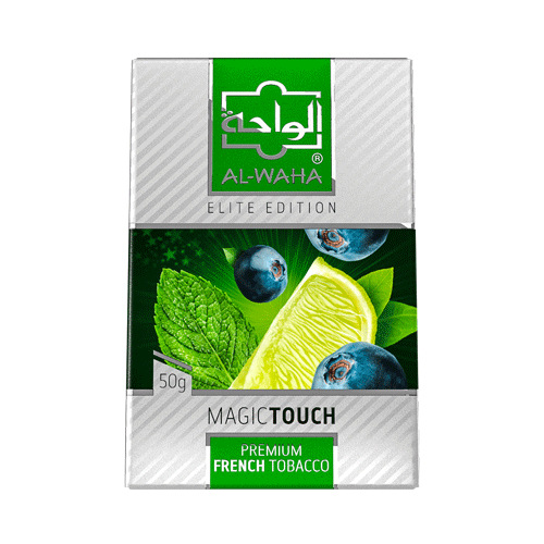 Al Waha Shisha Tobacco Magic Touch - Lavoo Design