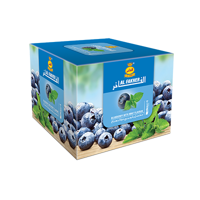 Al Fakher Shisha Tobacco Blueberry with Mint - Lavoo Design