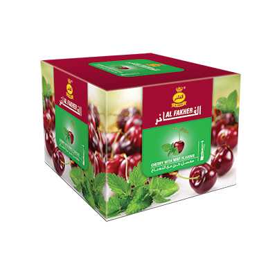 Al Fakher Shisha Tobacco Cherry with Mint - Lavoo Design