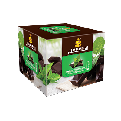 Al Fakher Shisha Tobacco Chocolate with Mint - Lavoo Design