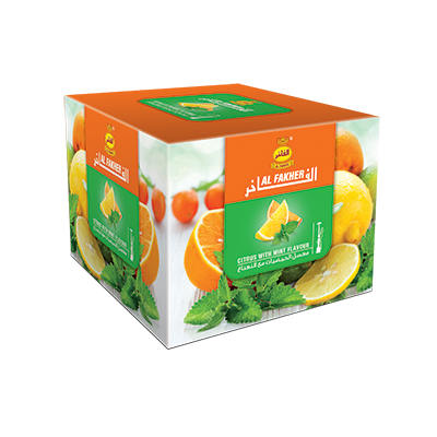 Al Fakher Shisha Tobacco Citrus with Mint - Lavoo Design