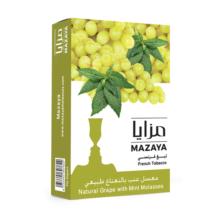 Mazaya Shisha Tobacco Grape with Mint