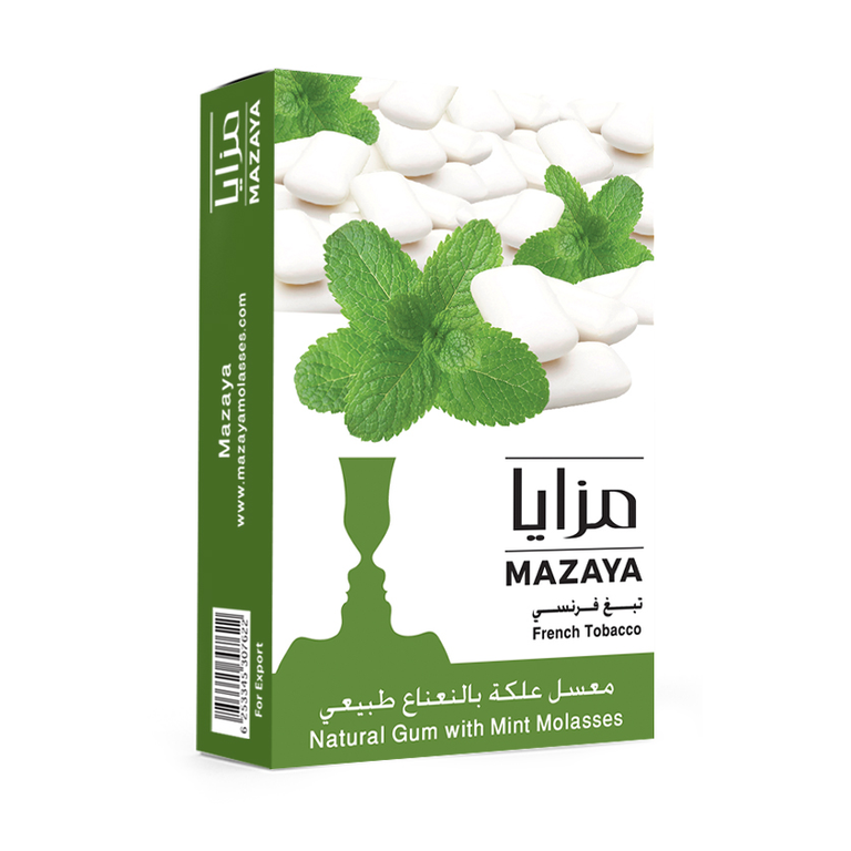 Mazaya Shisha Tobacco Gum with Mint