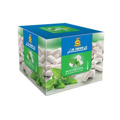Al Fakher Shisha Tobacco Gum with Mint