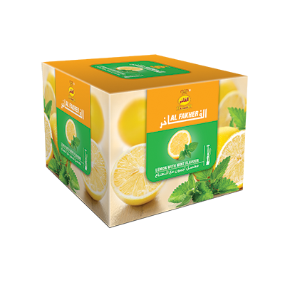 Al Fakher Shisha Tobacco Lemon with Mint - Lavoo Design