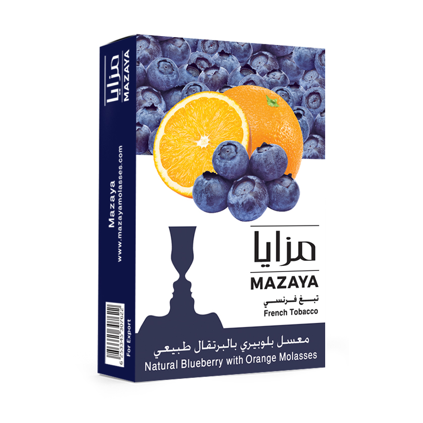 Mazaya Shisha Tobacco Blueberry with Orange - Lavoo Design