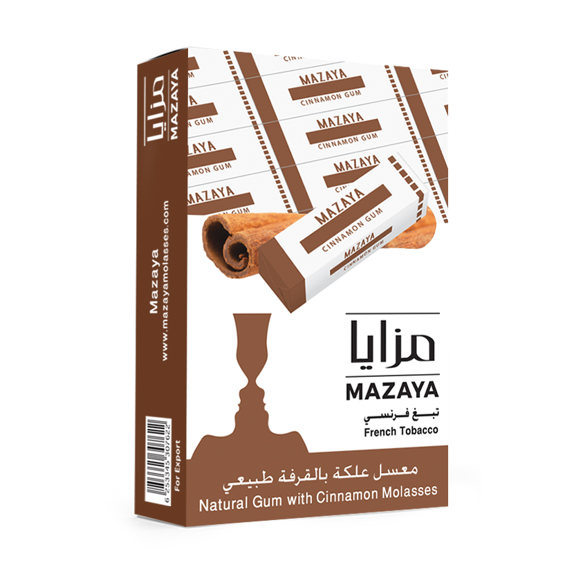 Mazaya Shisha Tobacco Gum with Cinnamon - Lavoo Design