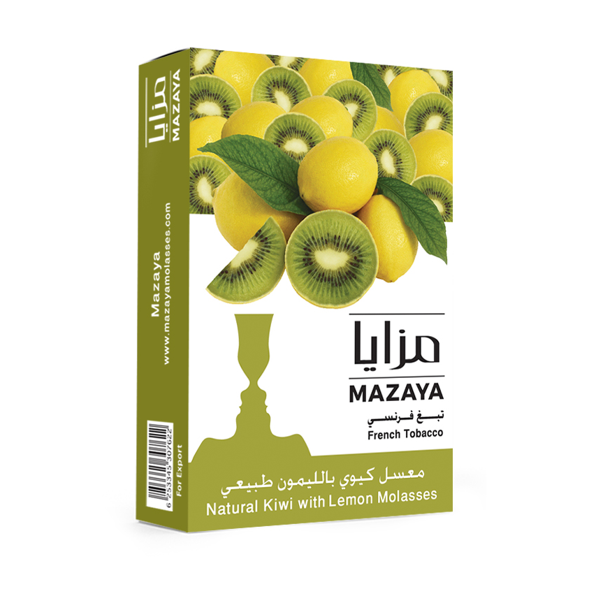 Mazaya Shisha Tobacco Kiwi with Lemon - Lavoo Design