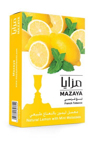 Mazaya Shisha Tobacco Lemon with Mint