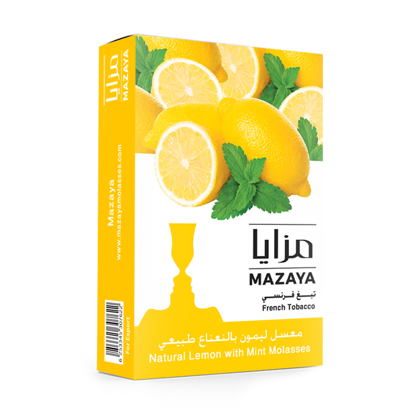 Mazaya Shisha Tobacco Lemon with Mint - Lavoo Design