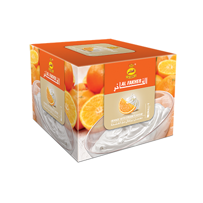 Al Fakher Shisha Tobacco Orange with Cream - Lavoo Design
