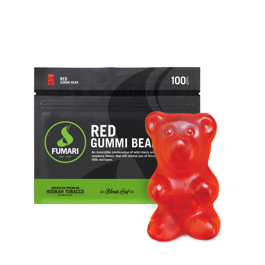 Fumari Shisha Tobacco Red Gummi Bear - Lavoo Design