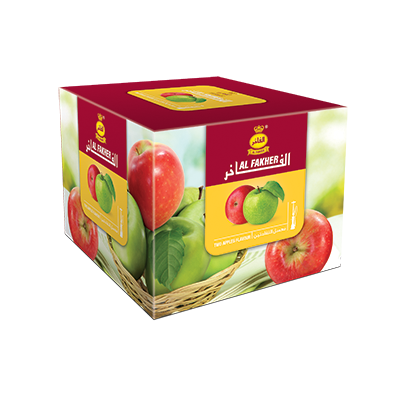 Al Fakher Shisha Tobacco Two Apples