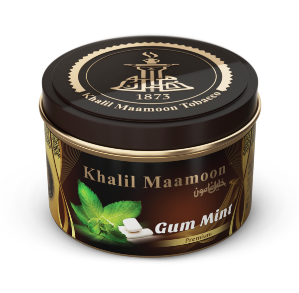 Khalil Mamoon Shisha Tobacco Black Orange