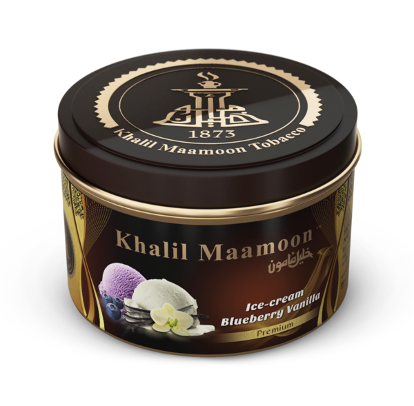 Khalil Mamoon Shisha Tobacco Ice Cream Blueberry Vanilla