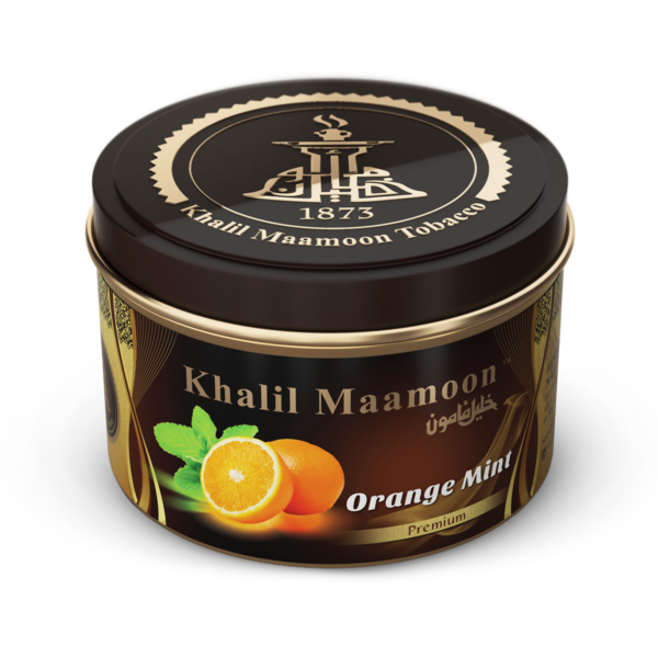 Khalil Mamoon Shisha Tobacco Orange Mint