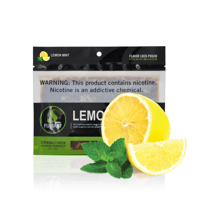 Fumari Shisha Tobacco Lemon MInt - Lavoo Design