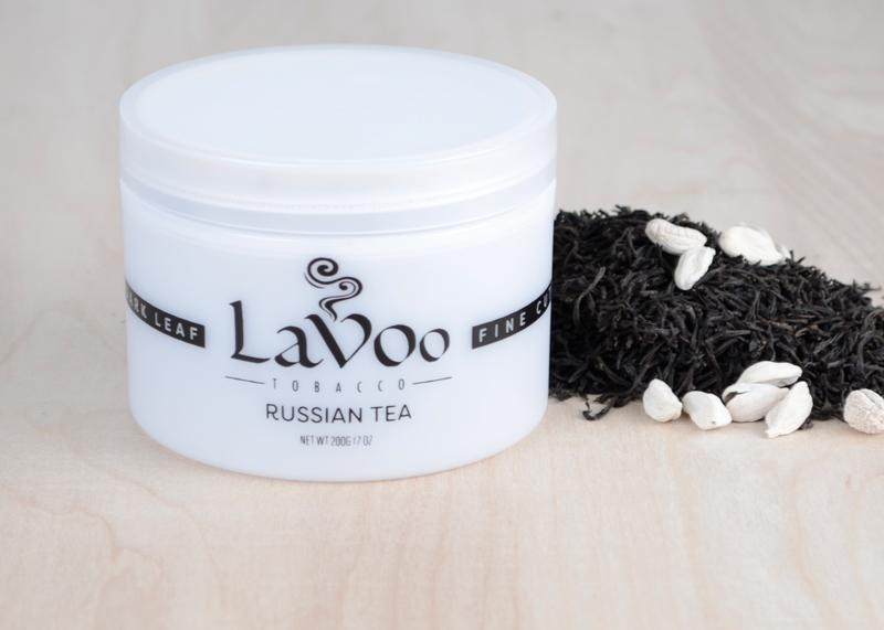 Lavoo Russian Tea Dark Leaf Tobacco - - Shishamore.com