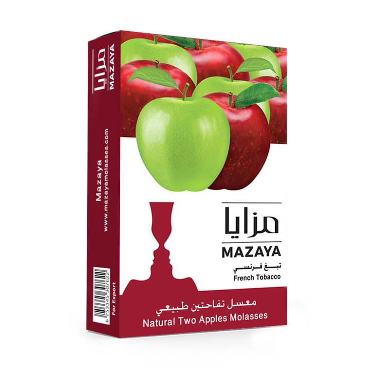 Mazaya Shisha Tobacco Two Apples