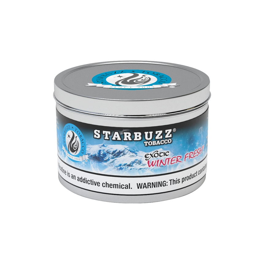 Starbuzz Shisha Tobacco Winter Fresh