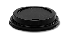 12/16oz Black Sip-Thru Lids