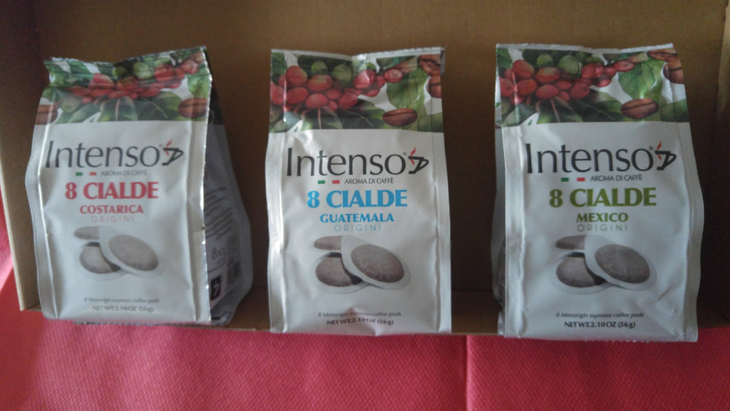 Intenso Mixed Single Origin ESE 44mm pods (96 pods)