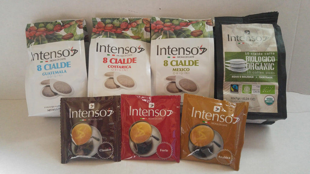 Intenso Variety Pack ESE Coffee Pods (150) - No Decaf
