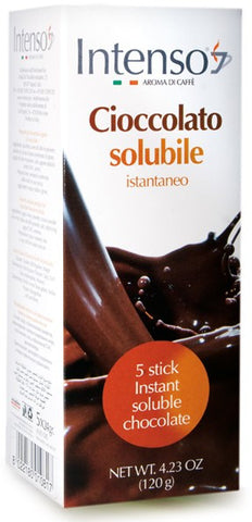 Intenso Soluble Chocolate Sticks 5 x 20g
