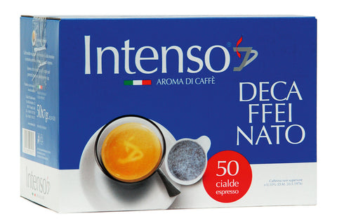 Intenso Decaffeinato ESE Coffee Pods