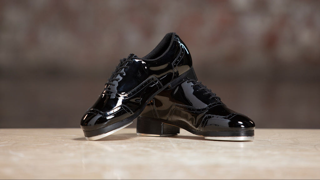The Jason Samuels Smith Tap Shoes in Black Patent