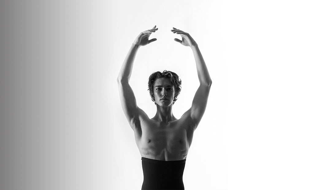 Global guest artist Julian Mackay ballet dancing