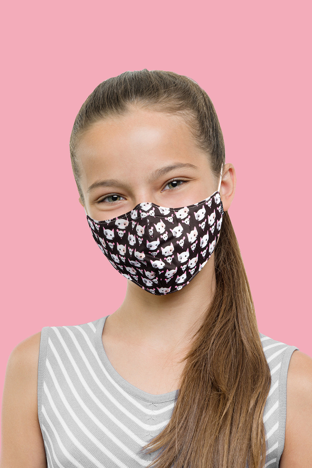 BLOCH B-Safe Childrens Lanyard Print Face Mask 3 Pack - BLOCH US
