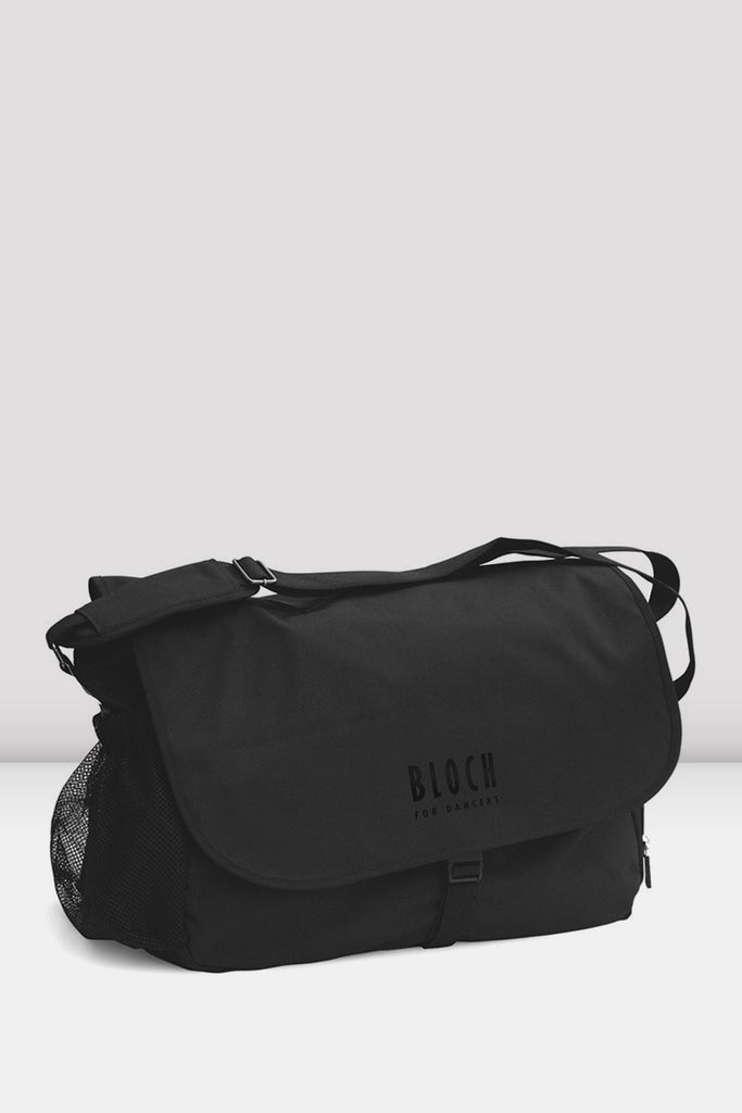 Black nylon Bloch BLOCH Dance Bag dance bag with BLOCH logo with multiple compartments