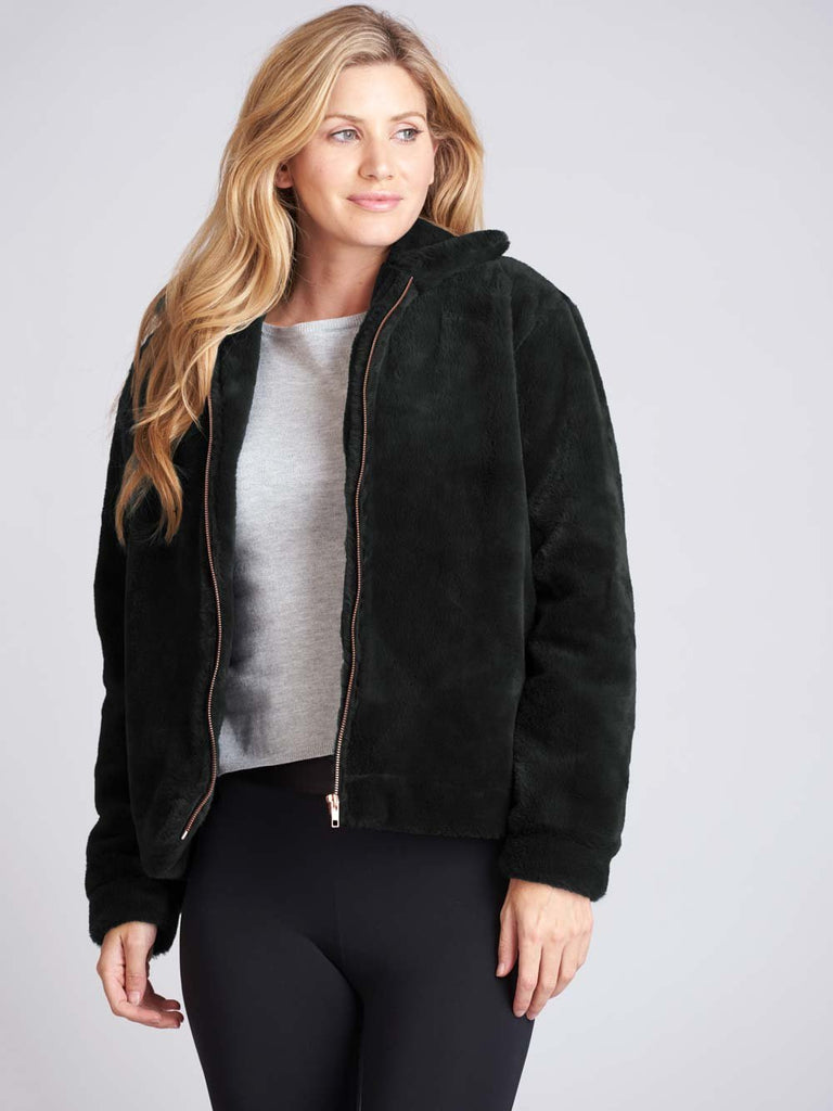 Adagio Faux Fur Jacket - BLOCH US