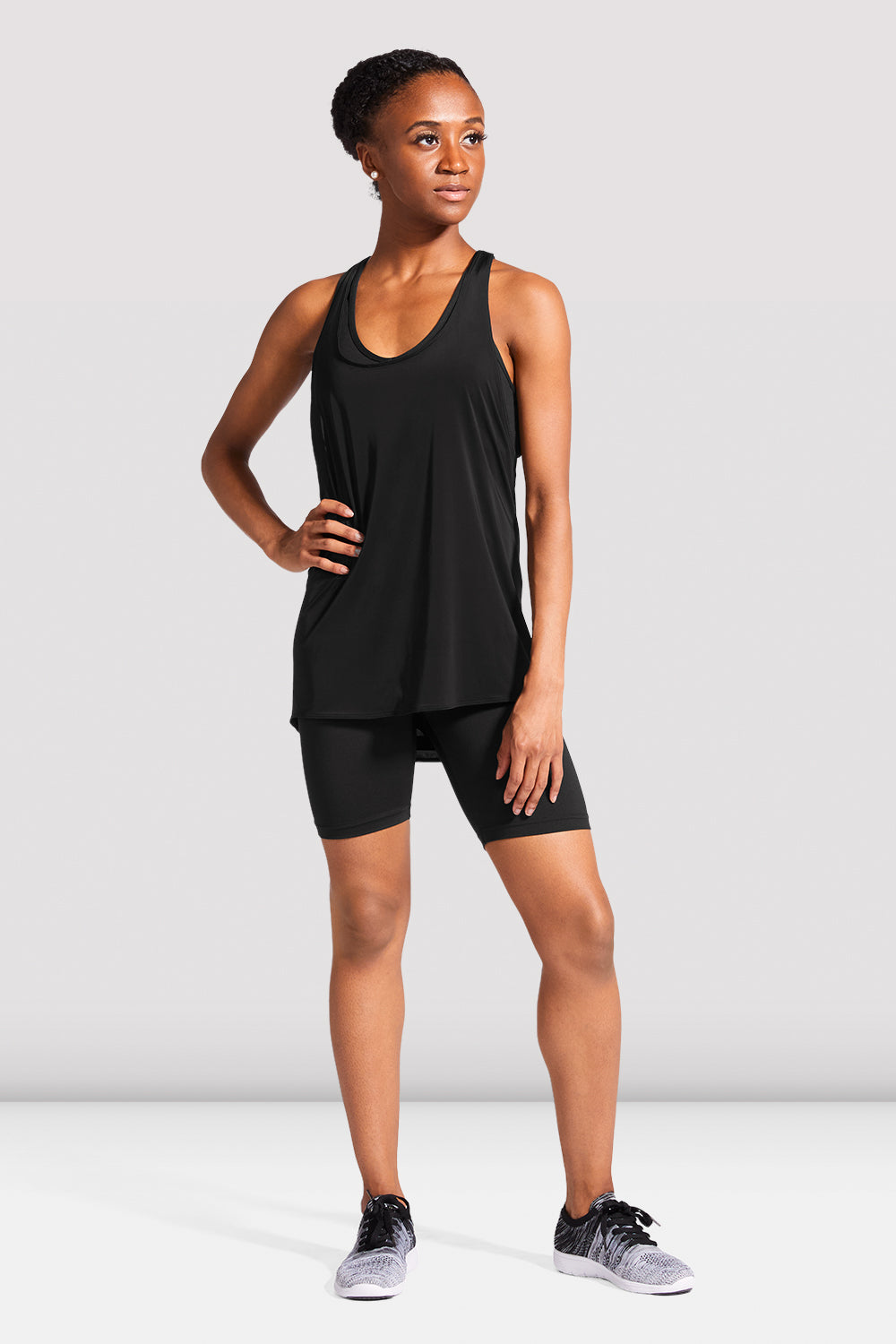 Ladies Bloch Logo Tank Top - BLOCH US