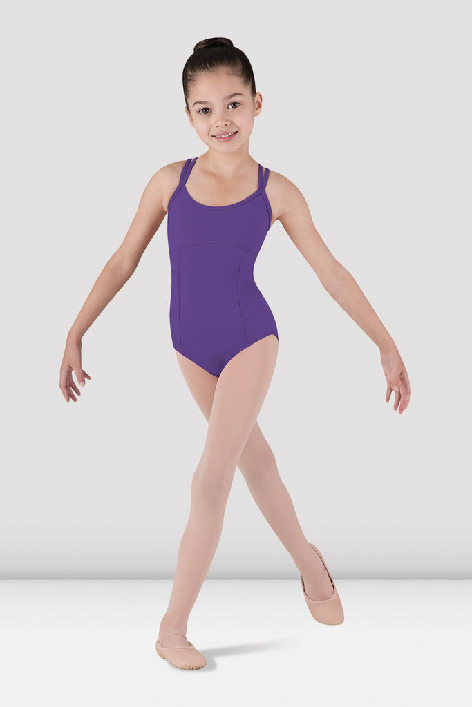 Girls Dolly Plain Camisole Leotard - BLOCH US