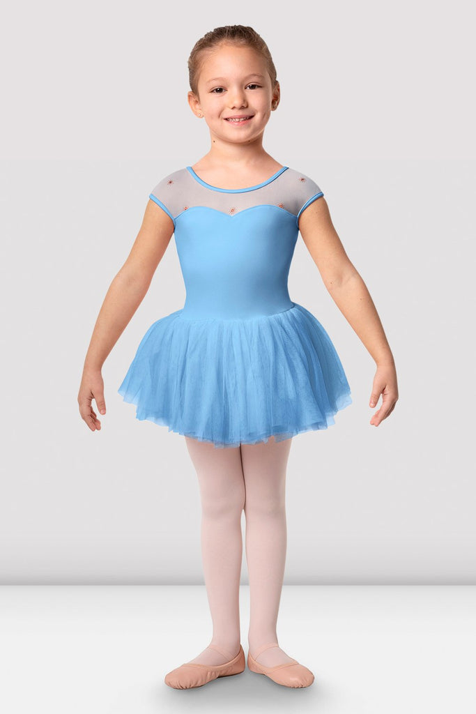 Girls Dutchess Cap Sleeve Tutu Dress - BLOCH US