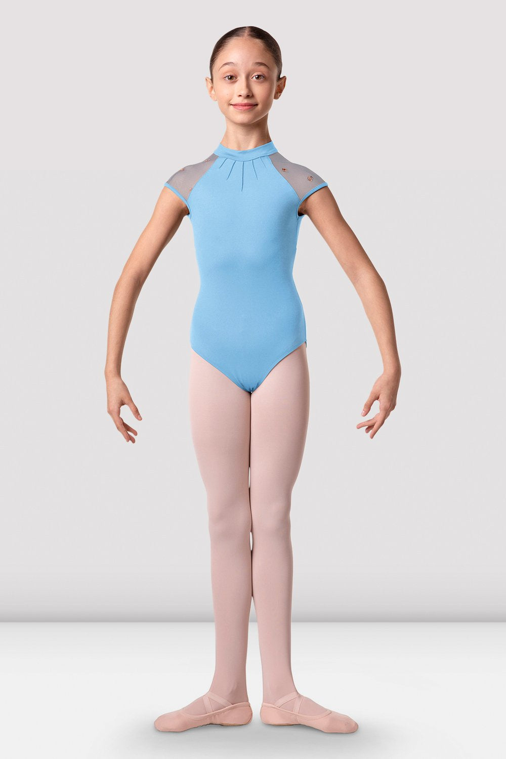 Girls Halo Cap Sleeve Leotard - BLOCH US
