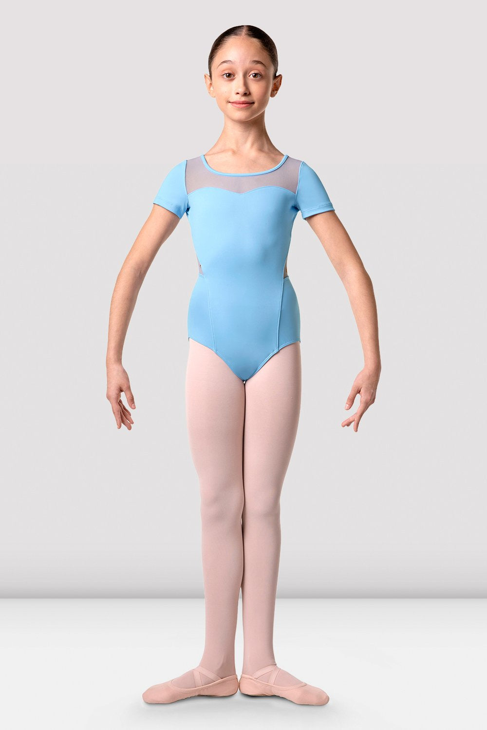 Girls Clemence Cap Sleeve Leotard - BLOCH US