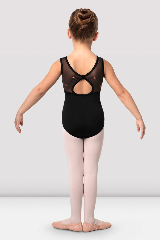 Girls Chiarra Open Back Tank Leotard - BLOCH US