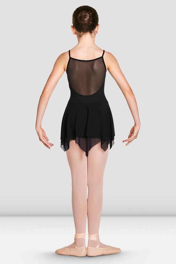 Girls Millicent Mesh Back Camisole Skirted Leotard - BLOCH US