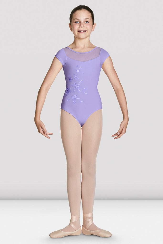 Girls Helena Cap Sleeve Leotard - BLOCH US