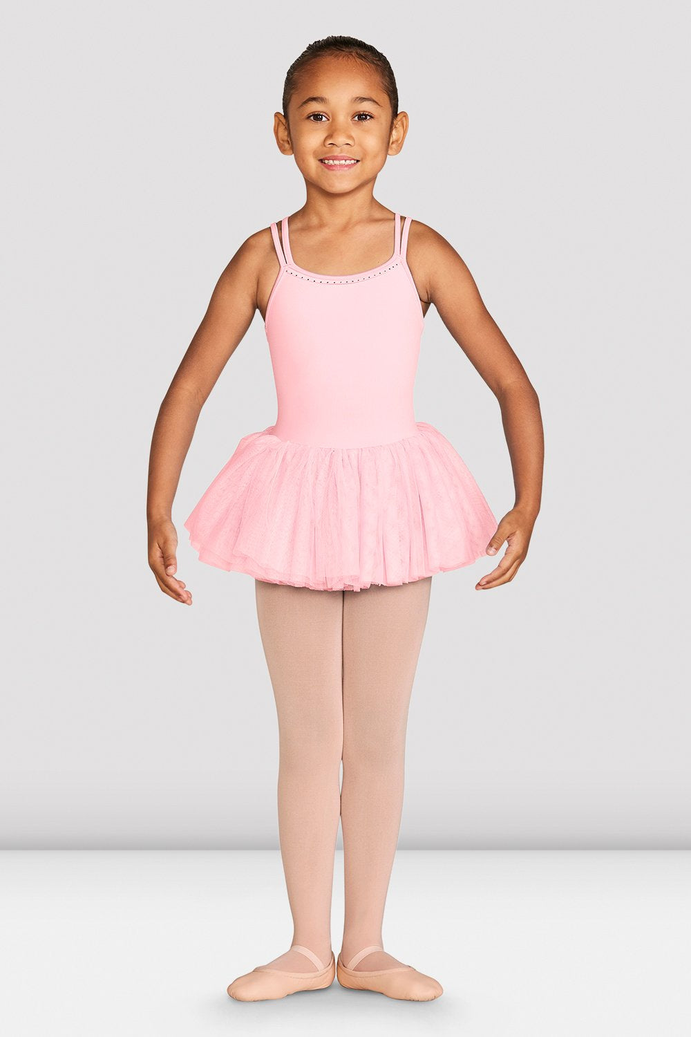 Girls Dottie Cross Back Tutu Dress - BLOCH US