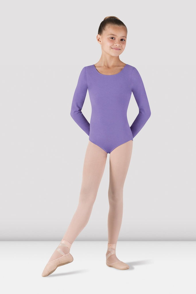 Girls Basic Long Sleeve Leotard - BLOCH US