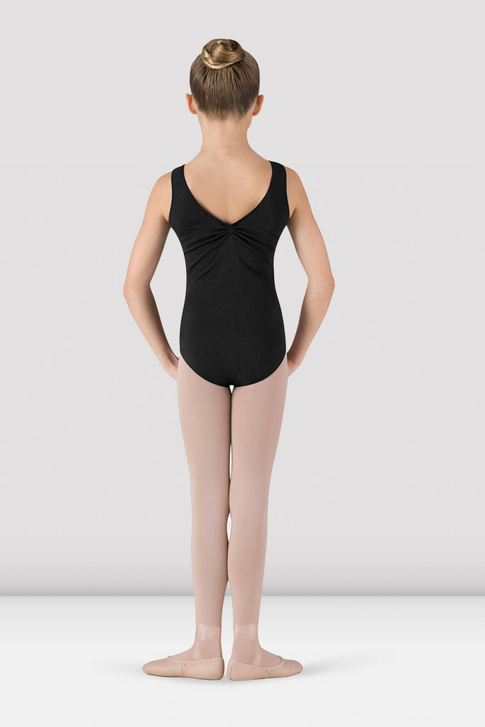 Girls Gathered Front/Back Tank Leotard - BLOCH US