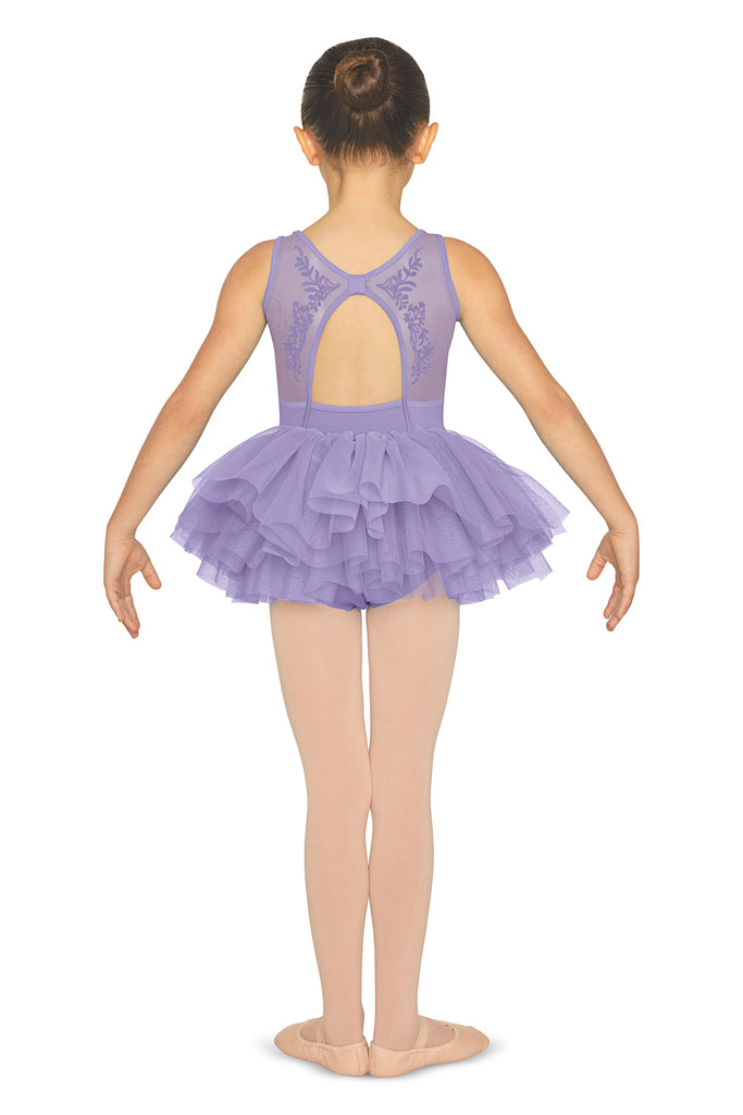 Girls Mesh Back Tank Tutu Leotard - BLOCH US