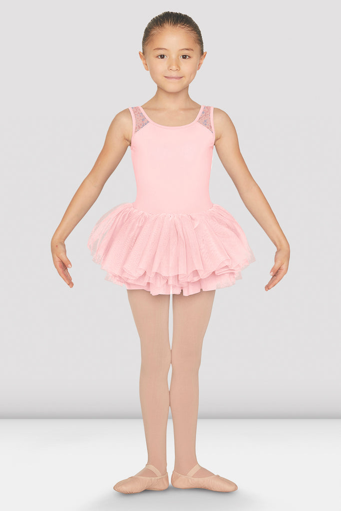 Girls Clementina Tutu Tank Leotard - BLOCH US